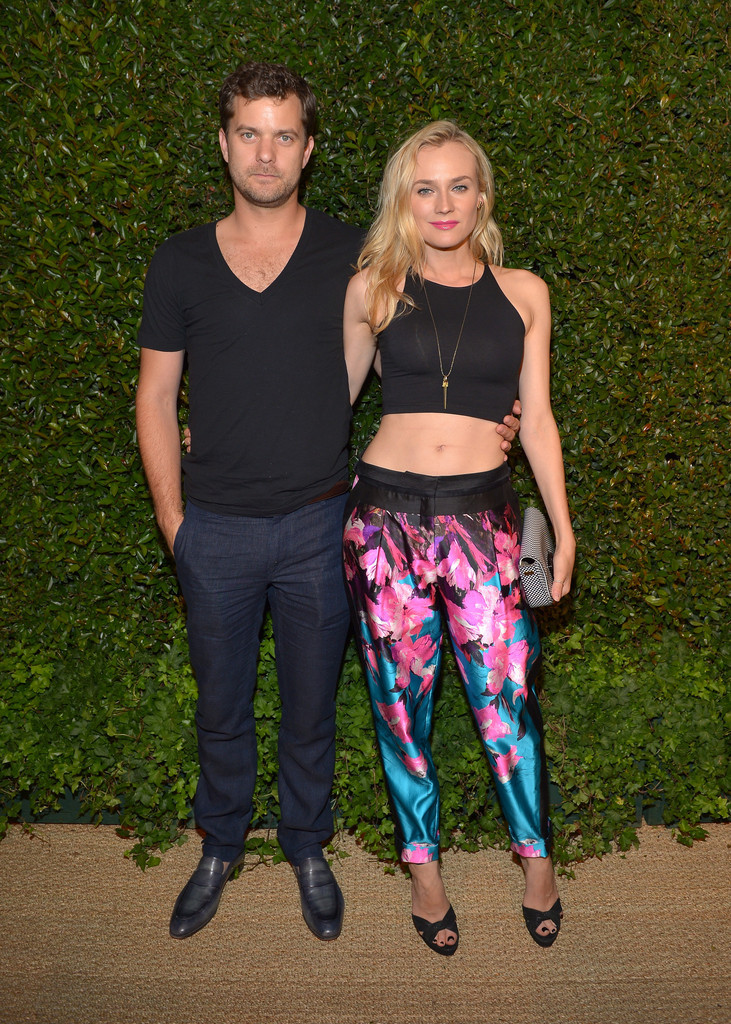 Joshua Jackson and Diane Kruger at the Prabal Gurung event at the Chateau Marmont, May 13th