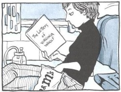 readingismyhustle:  Alison Bechdel reads.
