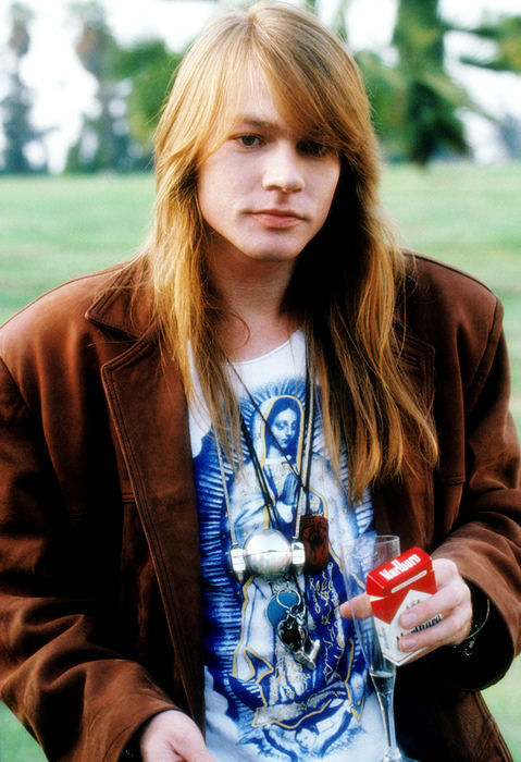 longhairworld:  Submission from as-i-write: young Axl Rose, Guns n Roses' singer