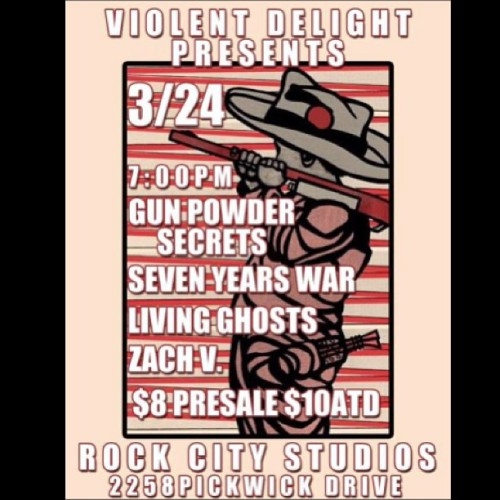 We're Comin' at ya Camarillo!!! Rock City Studios with our boys in @seven_year_war