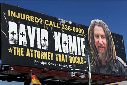 Meet David Komie, The Attorney Who Rocks I'm too scared to sue anyone.