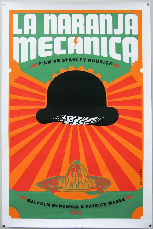 coffee-for-two:  Cuban A Clockwork Orange poster (Via)