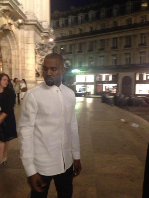 Yeezy in Paris