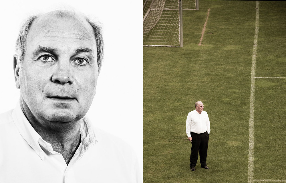 From the archive: Uli Hoeneß.
