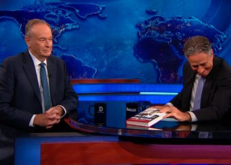 thedailyshow:  Tonight: Jon welcomes Bill O'Reilly. 11/10c.