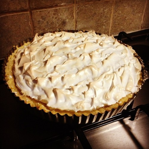 I am a culinary wizard #lemon #meringue #pie #likeaboss #cantbelieveididntmessitup
