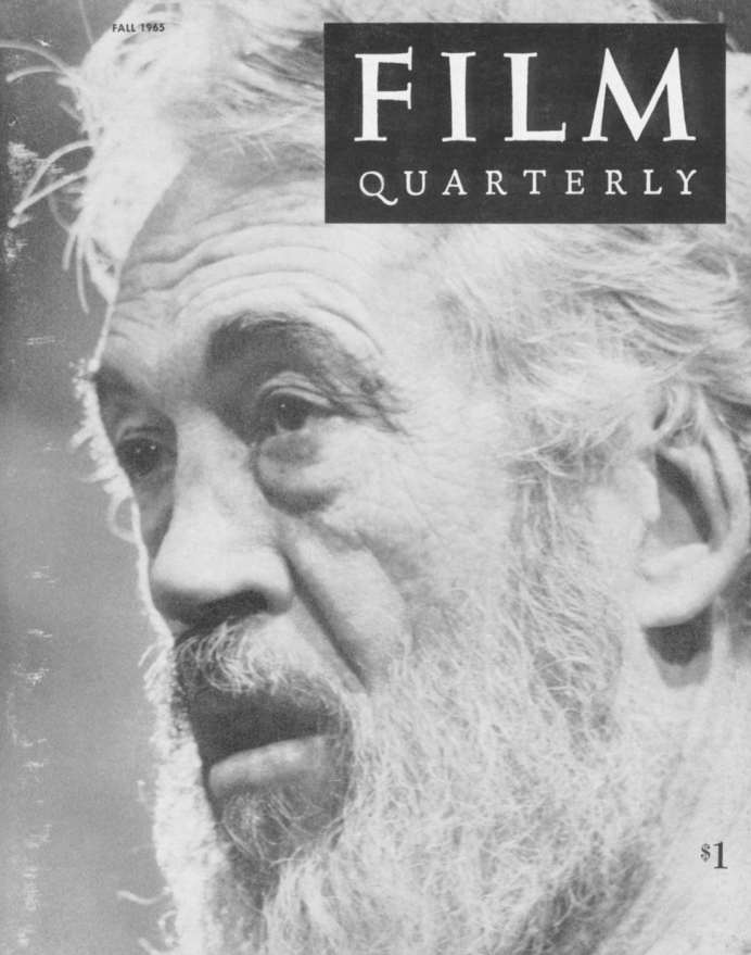 How I Make Films: Interview with John Huston, Film Quarterly, Fall 1965. I must say that this is one of the best interviews with John Huston.   How does the script get written? Do you do it alone? And how long does it take you? Again, there are no rules. I've written scripts and made pictures out of them in two weeks. At other times I've worked a year and a half just on a script. The Maltese Falcon was done in a very short time, because it was based on a very fine book and there was very little for me to invent. It was a matter of sticking to the ideas of the book, of making a film out of a book. On Treasure of Sierra Madre, I wrote the script in about 3-4 months, but I had had quite a long time to think about it before. The actual making of the film didn't take very long, but I had had the idea of making it since before the war. It was the first film I made after the war.    What is the technical process of your scriptwriting?Usually I write in longhand first, and then dictate a later version. I use a standard script form: action on the left and dialogue on the right. When it's finished it's mimeographed and distributed to the pople who need to see it. I often change again later. Sometimes I finish the final version on the set itself, or change again something I've written as a final version the day before. Mostly these changes come to me when I hear the words first spoken by an actor. It's always different once it comes out of a living person's mouth. By this I do not mean that I try to adjust to an actor's personality—I try to do that as little as possible. When I write, I don't have in mind an actor, but a character. I don't conceive this character with a specific star in my mind. I guess what I am trying to do with this constant changing, is to try to put to work more than my own imagination, or at least allow my imagination the liberty of play, the liberty of coming out of its cage—which is me, my body, when I am alone and writing—and in this way it begins to live and to flower and gives me better service than when I put it to work abstractly, alone, in a room with paper and pencil, without the living presence of the material. Then, when the character has been born out of this extended imagination, I have to look for someone to play the role, and this someone isn't always necessarily the person who I thought could play it originally, because often it no longer is the same character. In fact, I've often-at least, sometimes—delayed the making of a film because I couldn't find anybody to play the new and adjusted character that I had finally arrived at construing. Although in my experience you usually find someone; there are enough good actors if you are willing to wait a little.    What should an actor's relationship to the camera be?He must have an awareness of the size of his gesture, his motion, in relation to the size that his image will be on the screen. It isn't absolutely an essential quality, but it is very useful. I don't mean that I tell him the focal length of the lens I'm using and expect him to adapt himself accordingly, but a good actor has an almost instinctual awareness of these things. When an actor comes from the stage, he usually has to make adjustments of this kind. He doesn't need to project, he doesn't need to make his voice heard over a distance. He can speak very quietly. He can be more economical in every way before the camera than he could be on stage. And he can work with the small details of his face.    Let's see if we can follow your filmmaking method through logically and go on to a description of the process of turning the script into film.Actually I don't separate the elements of filmmaking in such an abstract manner. For example, the directing of a film, to me, is simply an extension of the process of writing. It's the process of rendering the thing you have written. You're still writing when you're directing. Of course you're not composing words, but a gesture, the way you make somebody raise his eyes or shake his head is also writing for films. Nor can I answer precisely what the relative importance, to me, of the various aspects of filmmaking is, I mean, whether I pay more attention to writing, directing, editing, or what—have—you. The most important element to me is always the idea that I'm trying to express, and everything technical is only a method to make the idea into clear form. I'm always working on the idea: whether I am writing, directing, choosing music or cutting. Everything must revert back to the idea; when it gets away from the idea it becomes a labyrinth of rococo.    Occasionally one tends to forget the idea, but I have always had reason to regret this whenever it happened. Sometimes you fall in love with a shot, for example. Maybe it is a tour de force as a shot. This is one of the great dangers of directing: to let the camera take over. Audiences very often do not understand this danger, and it is not unusual that camerawork is appreciated in cases where it really has no business in the film, simply because it is decorative or in itself exhibitionistic. I would say that there are maybe half a dozen directors who really know their camera—how to move their camera. It's a pity that critics often do not appreciate this. On the other hand I think it's OK that audiences should not be aware of this. In fact, when the camera is in motion, in the best-directed scenes, the audiences should not be aware of what the camera is doing. They should be following the action and the road of the idea so closely, that they shouldn't be aware of what's going on technically. —How I Make Films: Interview with John Huston, Film Quarterly, Fall 1965  Tweet  //  Follow @LaFamiliaFilm  //