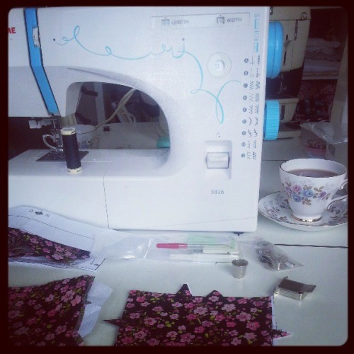 Today I am mainly making a dress #craft #sewing #blogger #sunday
