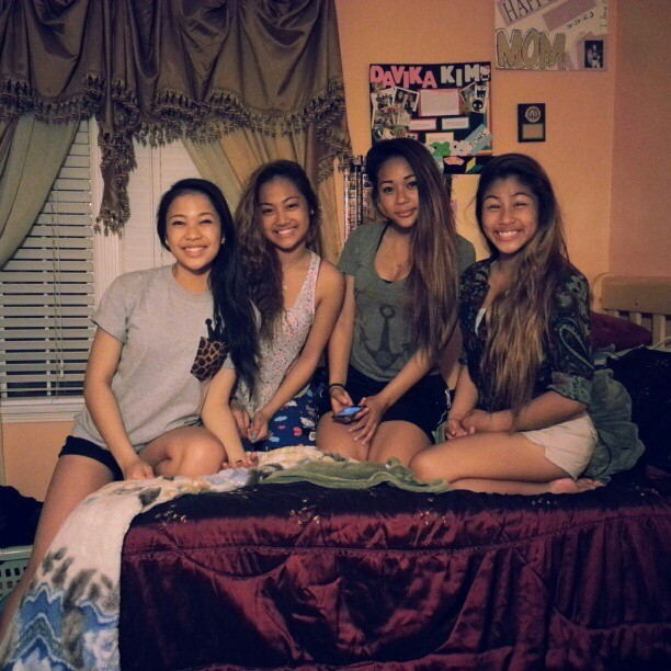 my girls @infinityxjaay @natalieekim @wsgoodkatrinaa #havingaratchetassnight