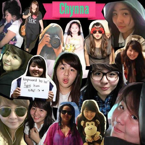 Awesome collage made by my @harumim317, kala mo birthday ko lang e. Haha haylavit! Thank you so much harume! :)) #moldiv