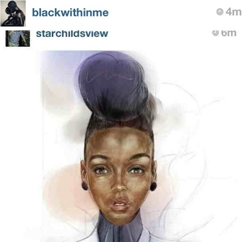 #BlackArtFriday #repost at @blackwithinme   #blackart #FF #artbyomni #illustration #art #janellemonae #erykahbadu #queen #music #blackmusic #soul #rnb #hiphop #drawing #watercolour #pastel #fashion #popculture #hiphopculture