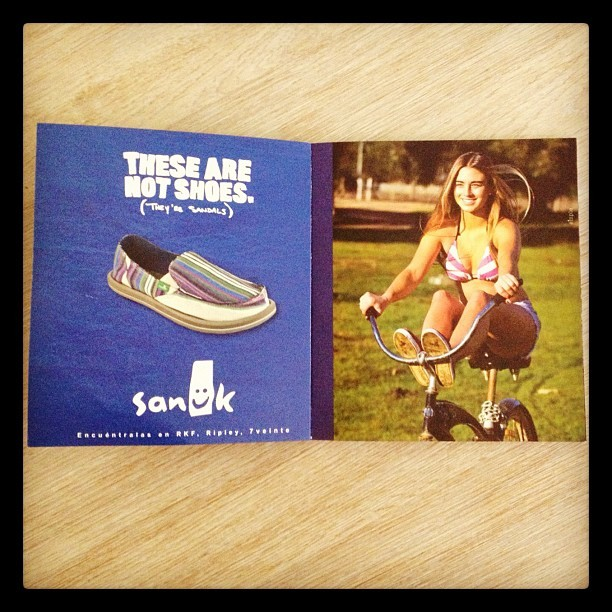 Photo for @sanukfootwear #sanukchile @isidoraureta #passiton