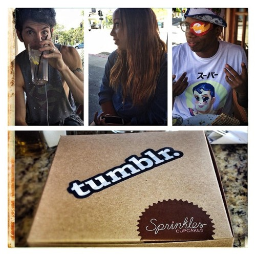 I'd say the Beverly Hills @Tumblr meet up was a success with Hanmattan and Mike Huffman :D