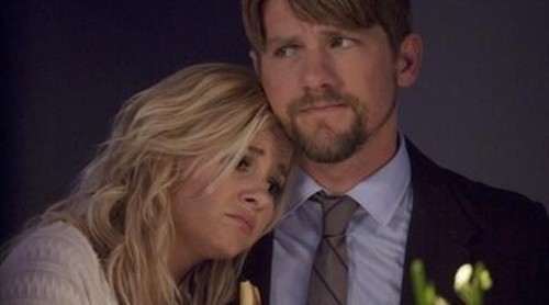 2. Dave and Alex (Happy Endings) She left him at the altar and they both know that moving back in together was a mistake… but yet, they did it. We want Dave to be with Penny, and Alex to be with someone with better hair. Is that so wrong? On this show, a fake relationship set up as an elaborate plan by Max to get Dave out of his apartment wouldn't be the craziest thing we'd ever heard. Read more: TWoP 10: TV Relationships We Wish Were Fake