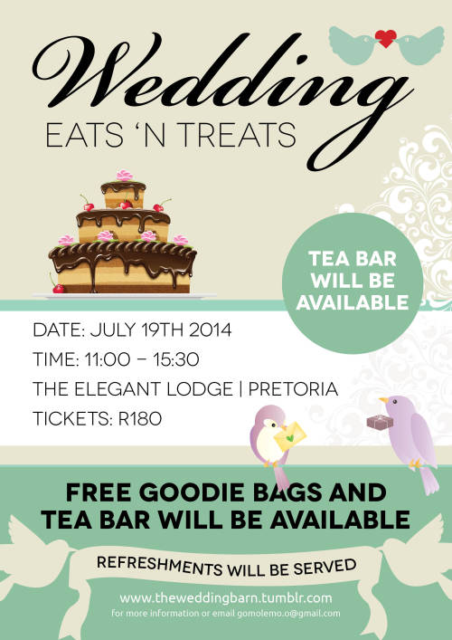 The first ever Wedding Eats 'n Treats event will be taking place at the Elegant L