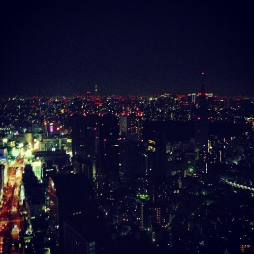 Engagement view #tokyo  (at New York Bar)