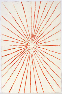nezartdesign:  LOUISE BOURGEOIS Untitled (double sided), 2006Watercolor and colored pencil on embossed paper