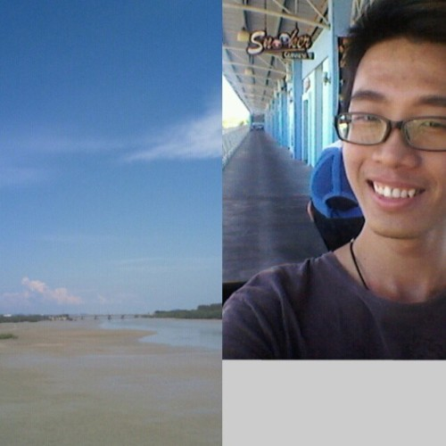 haha, sea view sea view, happy view for me ^^ #melaka #holiday #tour #gogoktv