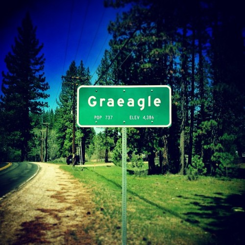 Small Town USA. #Graeagle #California (at Graeagle Meadows)