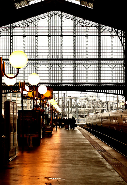 travelingcolors:  Gare du Nord, Paris | France (by ►bEbOpix - bebopix.fr)