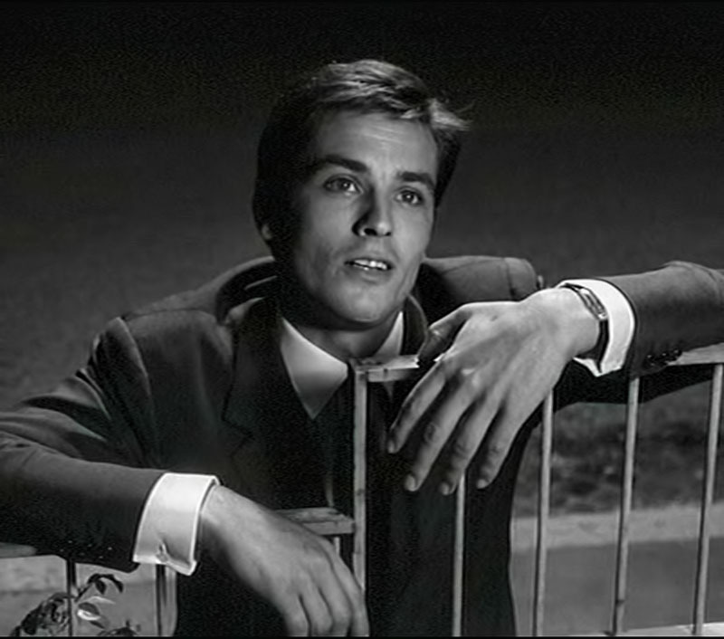"Alain Delon en ""El Eclipse"", 1962"
