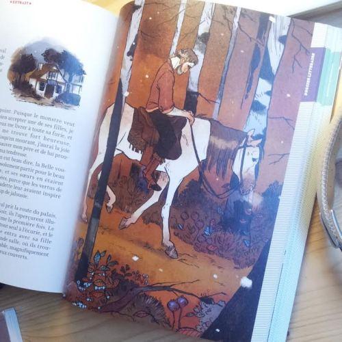 captainaurelieneyret:  Il y a quelques temps est paru un numéro de Je Bouquine, avec un dossier sur La Belle et la Bête que j'ai illustré.