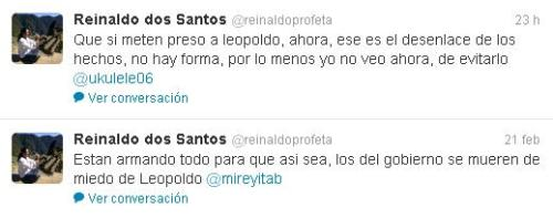 ... forma de evitarlo dice asi en su cuenta de twitter @ reinaldoprofeta
