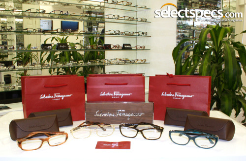 Salvatore Ferragamo - Now Available from SelectSpecs.com SelectSpecs are proud to announce that we are now licensed to sell Salvatore Ferragamo Eyewear.