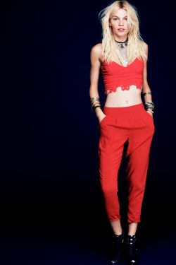 stormtrooperfashion:  Aline Weber by Anthony Nocella for the Free People May 2013 Lookbook