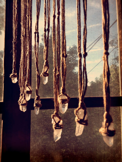 givemeaburger:  Hemp Rope Quartz