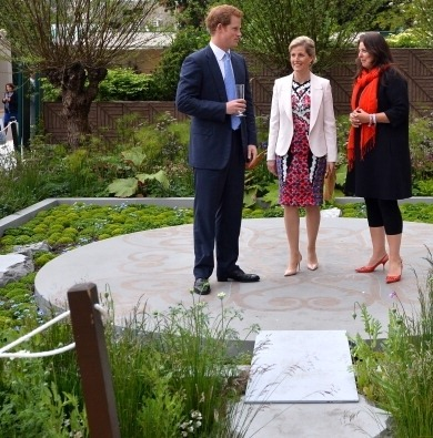 sophiewessex:  HRH Sophie of Wessex at the Chelsea Flower Show 2013.