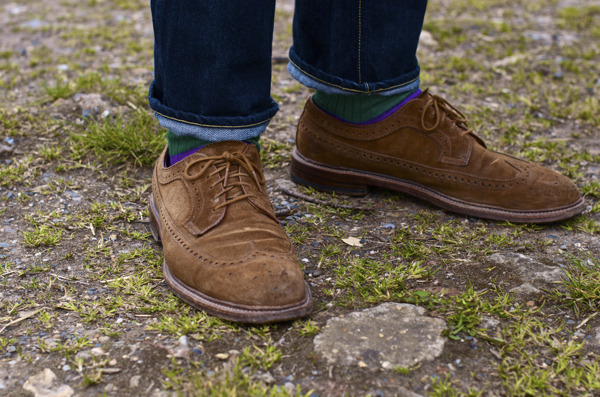 MH's Alden Longwings and our Wool Socks