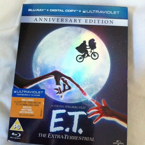 new #bluray #et #spielberg #movie