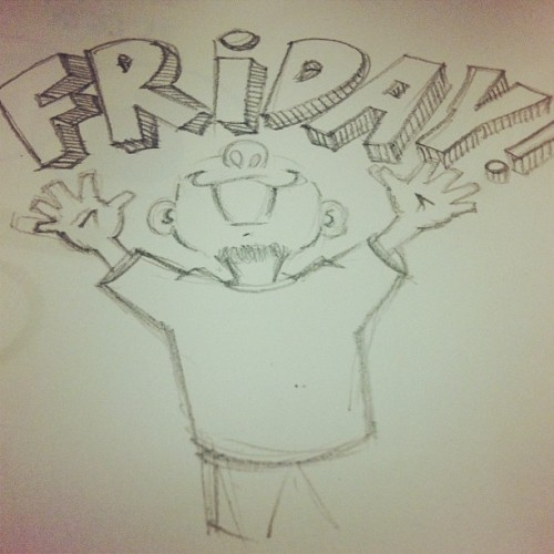 That Friday feeling! #tgif #art #designlife