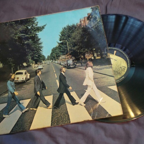 Got Abbey Road on vinyl today from Leicester Market. #TheBeatles #AbbeyRoad #record #vinyl