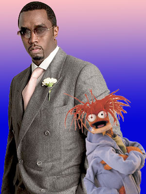 perletwo:  toughpigs:  P Diddy and Pepe the King Prawn are both confirmed to appear in The Muppets… Again.  Which one are you more excited about?  -OH HALE YEASSSSS