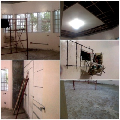 Demolished room :)) #practicum (at Home)