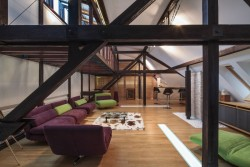 cjwho:  A Renovated Loft in Bucharest by TECON