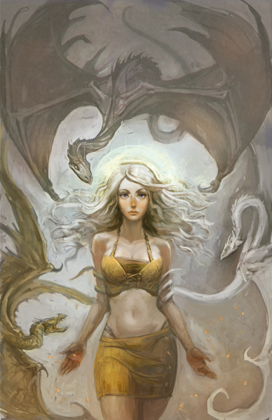 lulubonanza:  Mother Of Dragons by ~hungerartist