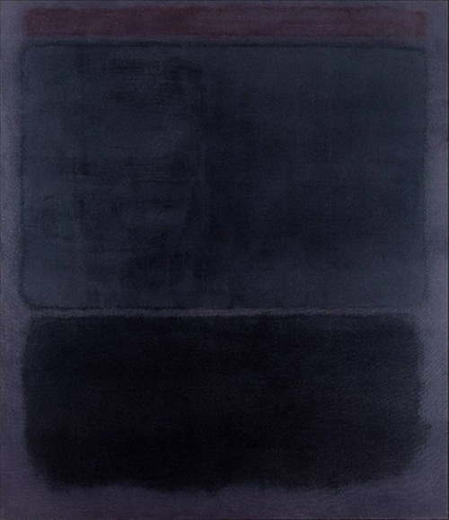 Mark Rothko http://habituallychic.blogspot.co.uk/2013/03/black-and-blue.html