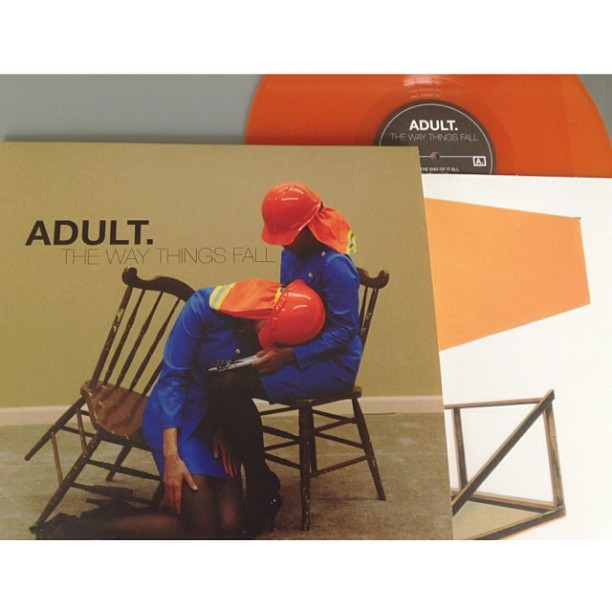 ADULT. is out today, happy to be holding the physical piece finally.