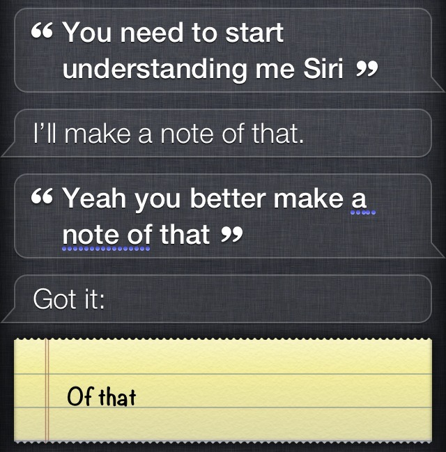 the-absolute-funniest-posts:  whtev-r: Siri being a sarcastic bitch   Via/Follow The Absolute Greatest Posts…ever.
