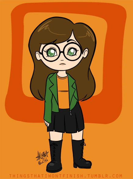 fefetafetus asked for a chibi Daria a while back. I've been feeling really down lately, and having a hard time drawing actually, so I'm going through the requests in my inbox again. Hope you like