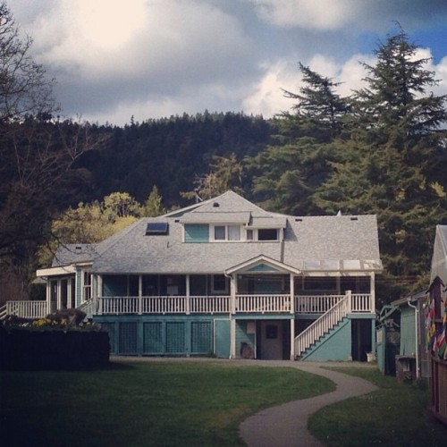 Home sweet home (at Saltspring Centre of Yoga)