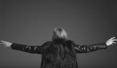 blkdnm:   A PORTRAIT OF DOROTHEA BARTH JORGENSEN, PHOTOGRAPHED BY JOHAN.  MADE-TO-ORDER LUXURY LEATHER JACKET 8.    BLK DNM forever killing it !!!!!
