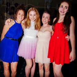 Aww #prom #memories #summer #dress #esther #ellie #manny #hattie #me #instapic #instagood