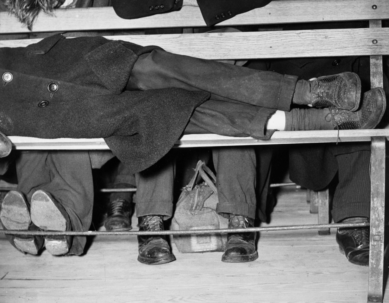 Weegee: Night Shelter, c.1938