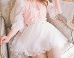 cute kawaii edit embroidery asian princess pink Korean fashion uzzlang ktyle