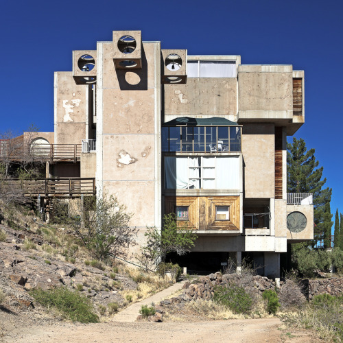 dontrblgme:  Arcosanti West Elevation (via ken mccown)