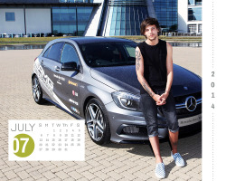 louis tomlinson One Direction ** i've been looking at it for half an hour and i'm still not sure if i like it or not and everyone is probably sleeping by now but 'm gonna post anyway louis' calendar